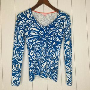 Lilly Pulitzer Women Size XS Long Sleeve Top